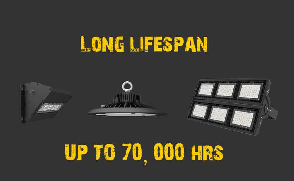 long lifespan of MURCU lights