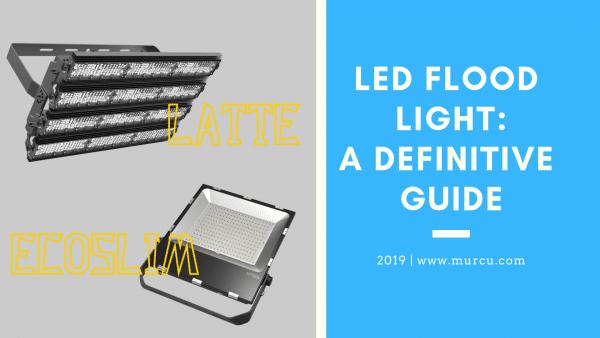 LED floodlights post image