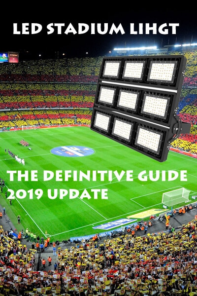 LED stadium light guide